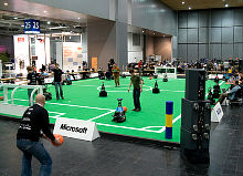 RoboCup German open на Hannover Messe - 2008