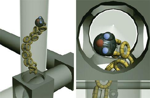 Робозмея для ремонта труб
