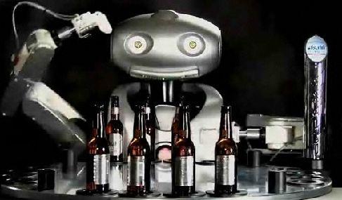 робот-бармен Mr Asahi
