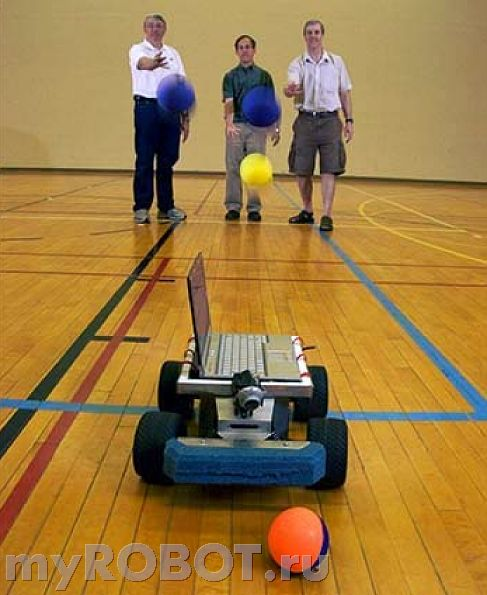 робот Catchbot