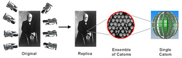 Миллионы микророботов Catom сформируют материалы, способные изменять свою форму