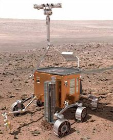 прототип нового марсохода ESA