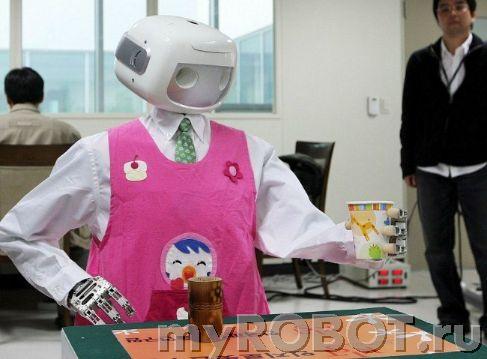 Южнокорейский гуманоидный робот Mahru