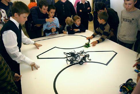 Фестиваль роботов в Политехническом музее