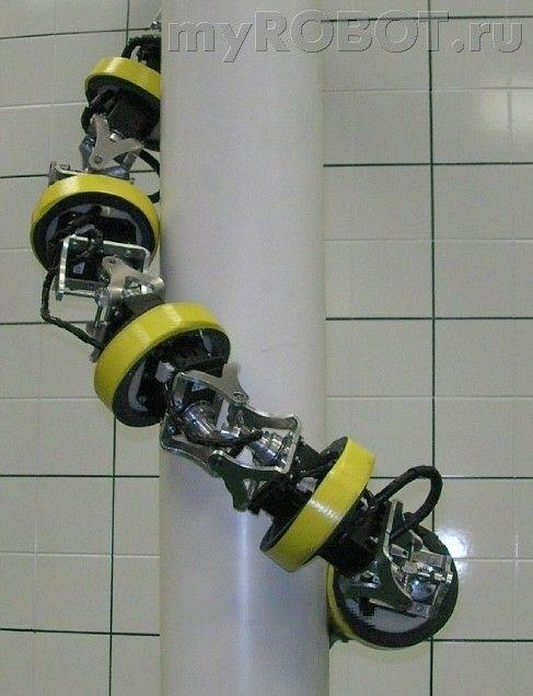 Робот-верхолаз лаборатории RoMeLa