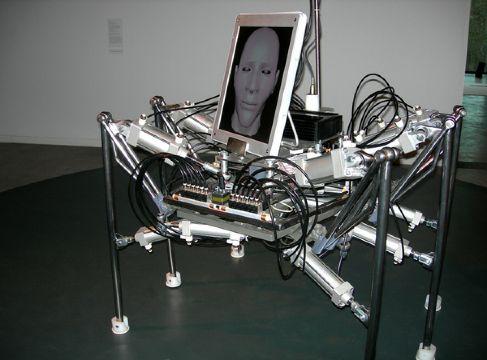Шагающий робот Walking Head