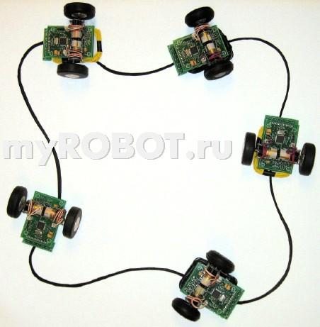 Беспроводная передача энергии для роботов