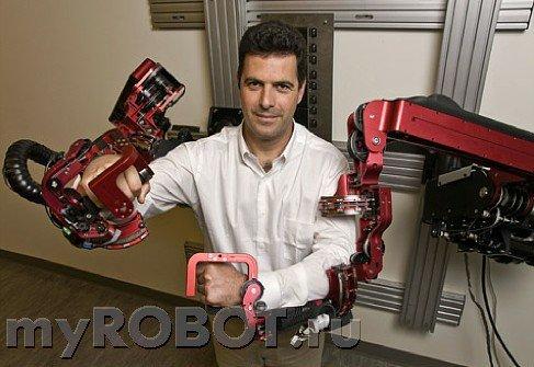 Нейроуправляемый экзоскелет Exoskeleton Prototype 3