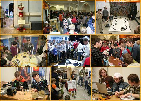 Каникулы роботов в Политехническом 2009