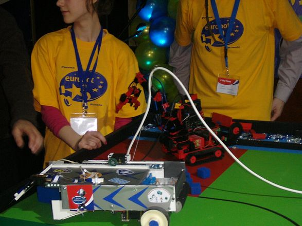 Российский отборочный этап международных молодежных соревнований по робототехнике EUROBOT