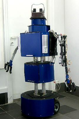 Выставка роботов в Политехническом