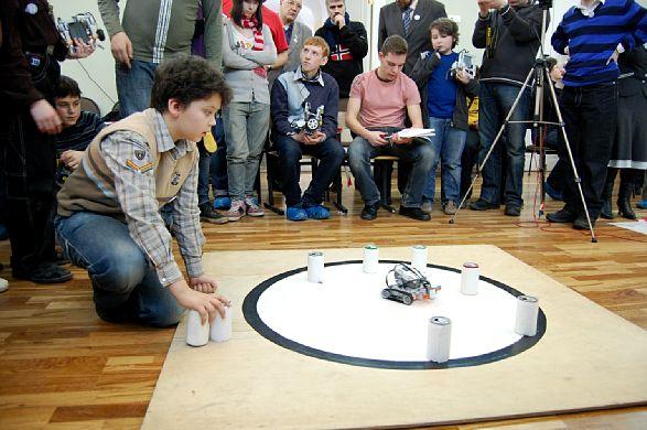 Открытые состязания Санкт-Петербурга по робототехнике 2010