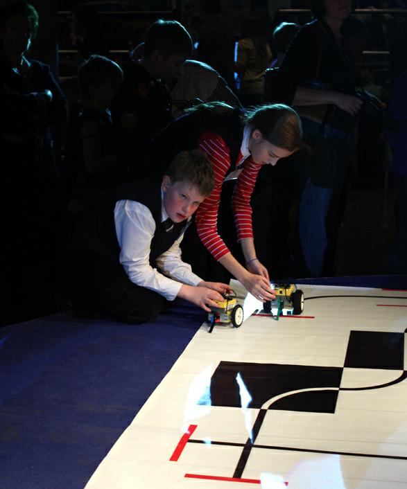 Cоревнования роботов Робомир-2010