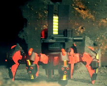 Боевой робот-гексапод