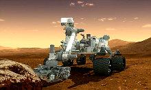 робот-марсоход Curiosity