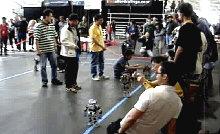 Соревнования роботов FIRA RoboWorld Cup в Англии