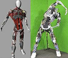 робот-гуманоид Kenshiro