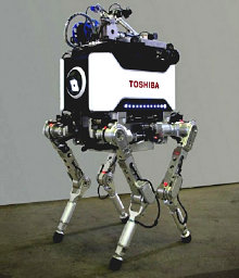 Робот Quadruped компании Toshiba
