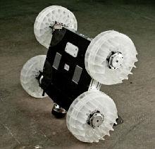 колесный робот-прыгун Sand Flea