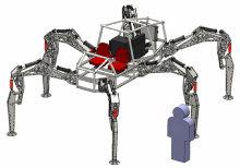 робот-паук Stompy