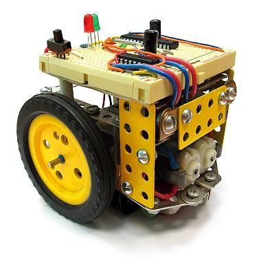 Как сделать робота, объезжающего препятствия