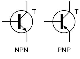 Транзисторы NPN и PNP