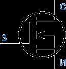 Обозначение мощного MOSFET-транзистора