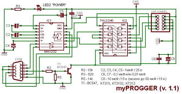 Программатор myPROGGER.